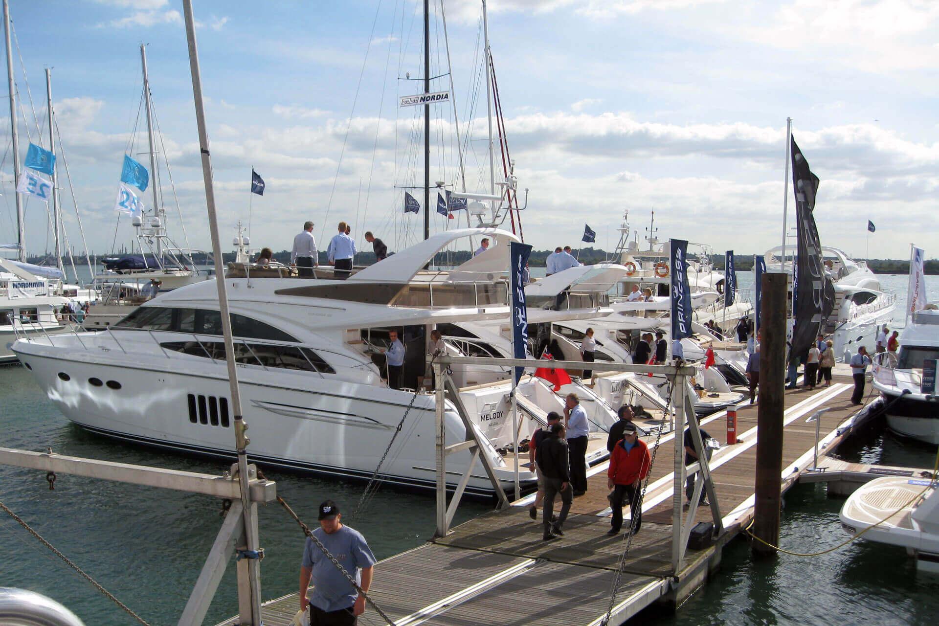 12 Princess Displayed At Southampton Boat Show Princess Yachts