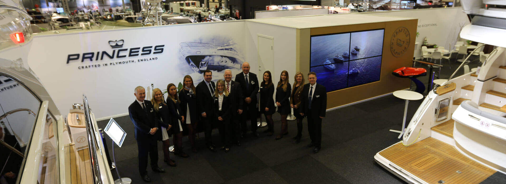 Welcome To Gothenburg Boat Show Princess Yachts Sweden Denmark Norway