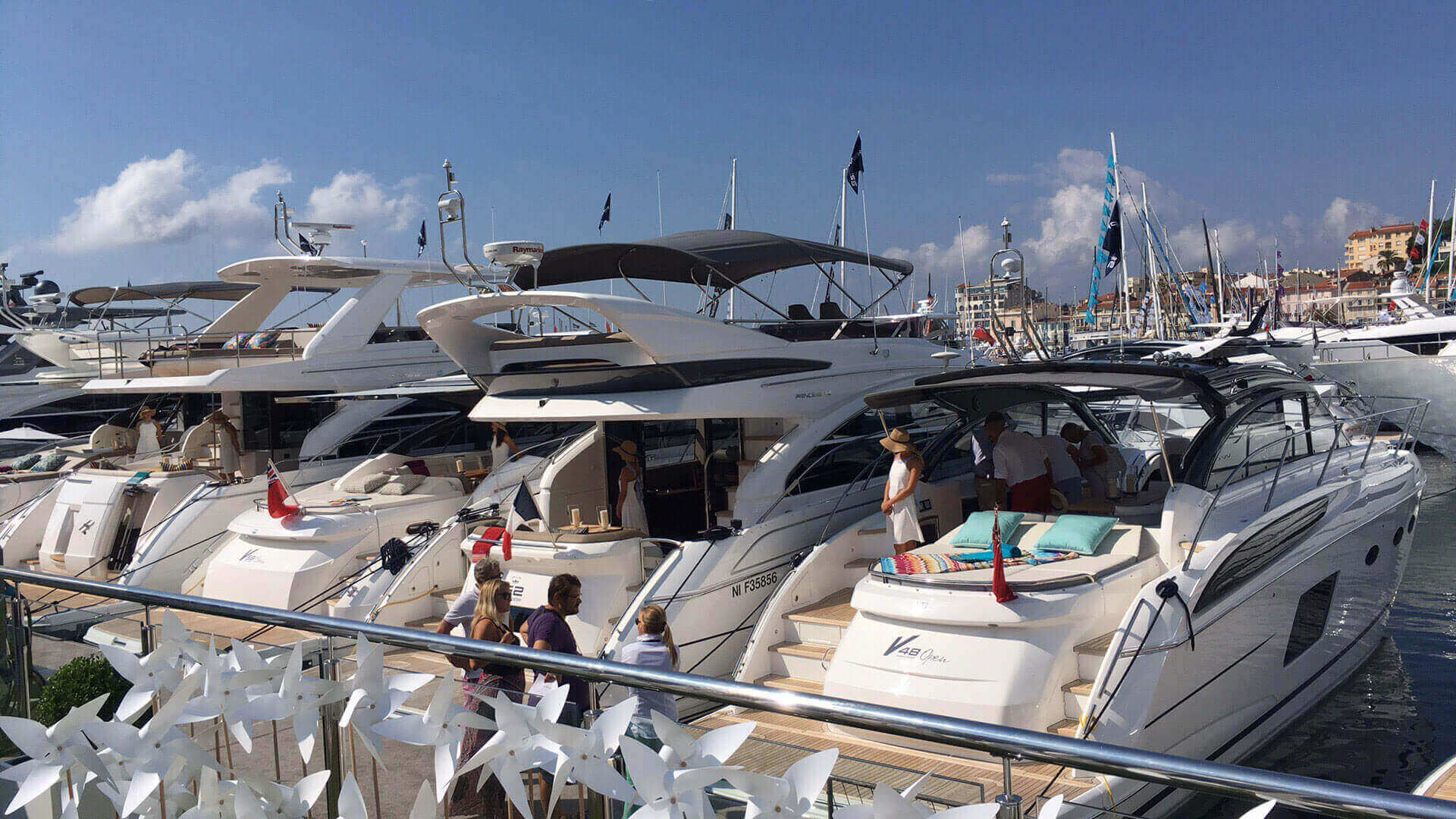 Video Fran Cannes Yachting Festival 2016 Princess Yachts Sweden