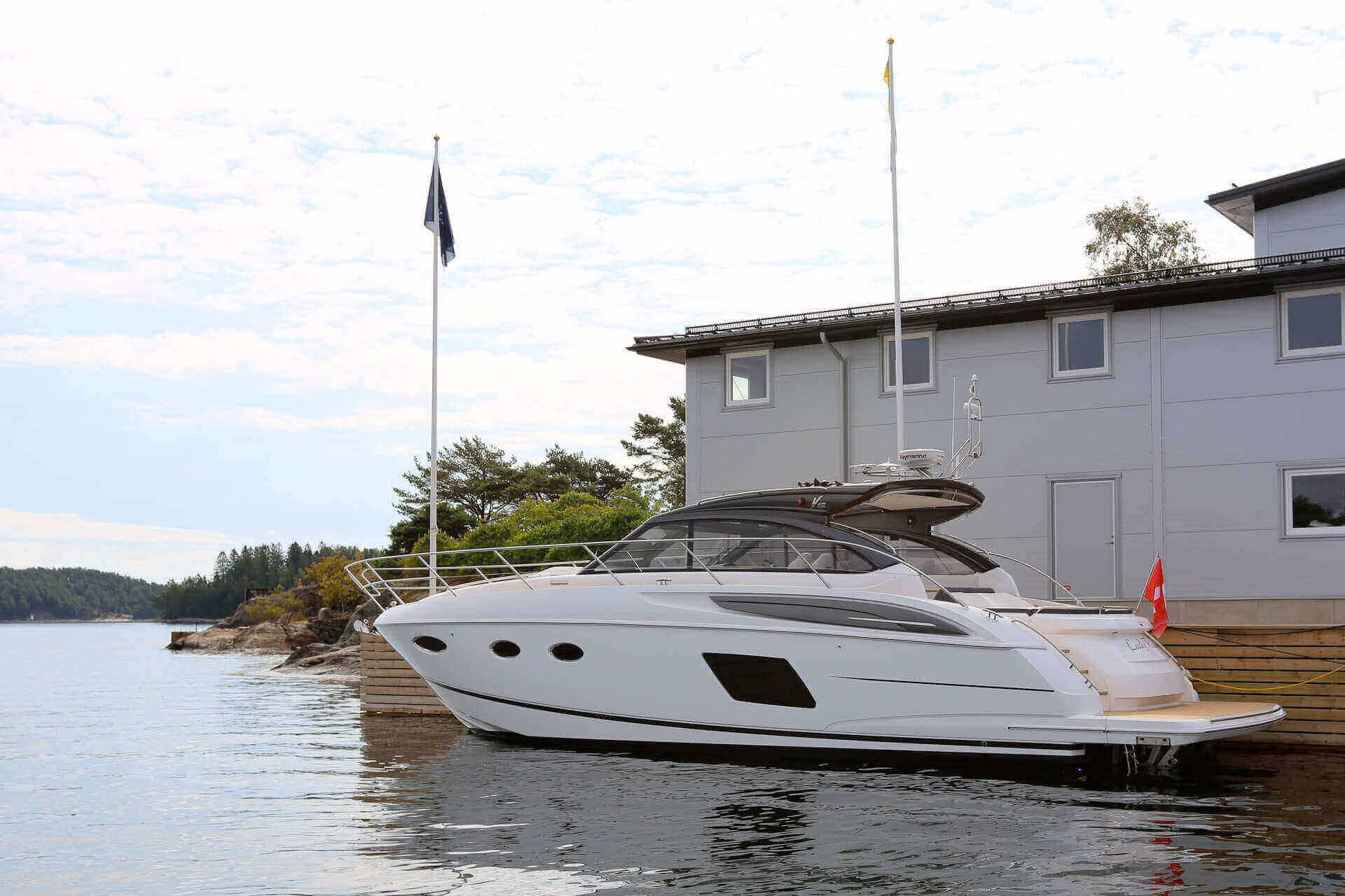 New Photos Of Princess V48 Open Princess Yachts Sweden Denmark Norway